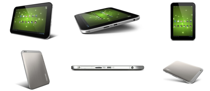 Toshiba Excite 7.7 - Toshiba Excite tablet trio unveiled, 13-inch Tegra 3 beast in tow