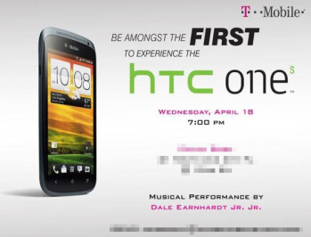 T-Mobile HTC One S to be officially unveiled on April 18th