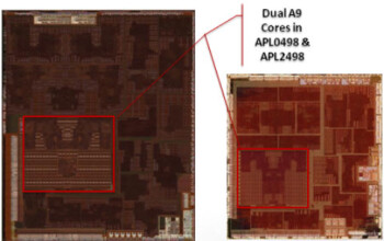Both versions of the A5 contain dual-cores
