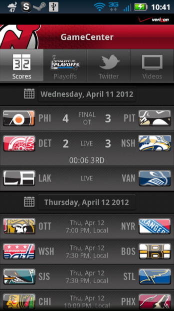 Verizon NHL GameCenter Playoffs edition app goes live