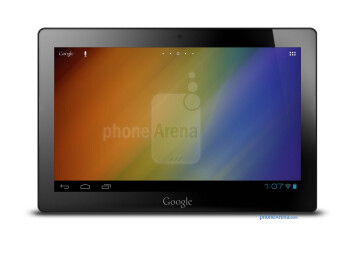 Is this a rendering of the Nexus tablet?