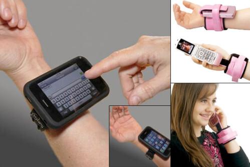 Wristband iPhone Holder