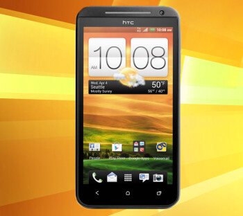 On the left, images from the FCC documentation for the HTC EVO 4G LTE (R) for Sprint