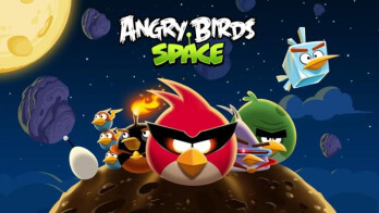 Make sure the version of Angry Birds Space you've installed came from Rovio