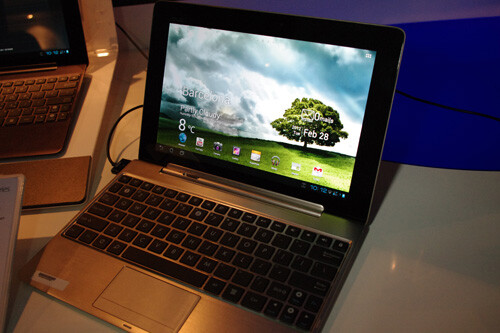 The Asus Transformer Pad Infinity 700 Series has a higher resolution screen - Quad-core Asus Transformer Pad 300 to launch in U.S. on April 22nd