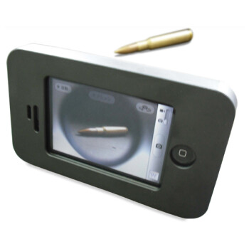 This armored Apple iPhone 4 case can stop a 50 caliber bullet