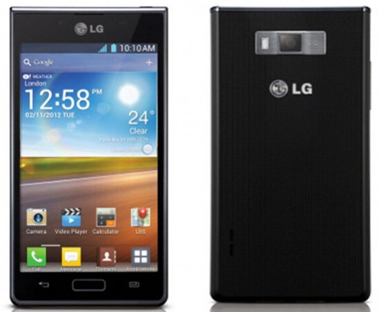 The LG Optimus L7 - The stylish LG Optimus L7 will not come out until the end of this month