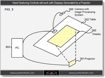 Diagrams from Microsoft's patent application