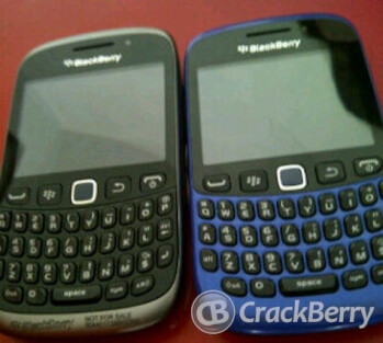 Blue variant of BlackBerry Curve 9320 spotted in the wild