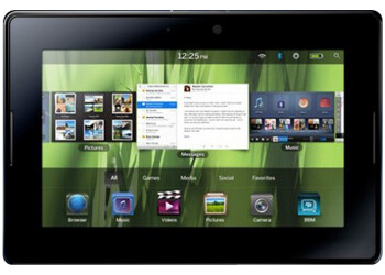 The BlackBerry PlayBook has just received an update to OS 2.0.1.358