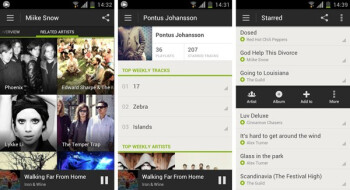 Spotify Android app overhauled: clean looks, easier music discovery, made for ICS