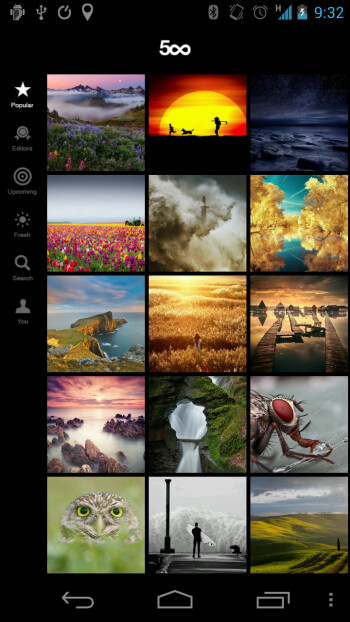 500px official Android app reminds us what beauty is
