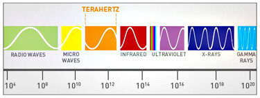 """The research uses terahertz electromagnetic waves."""" &nbsp - Discovery suggests x-ray cell phones are possible in the future"""