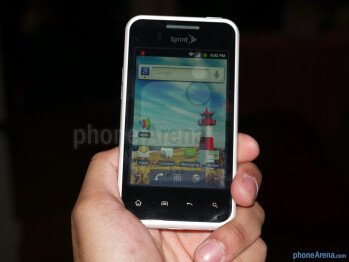 LG Optimus Elite hands-on