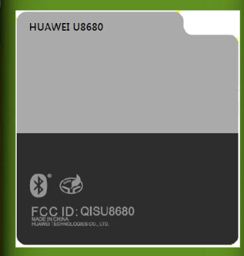 Label from the FCC documentation (L) and proof that the Huawei U8680 is one of the next T-Mobile myTouch phones (R)