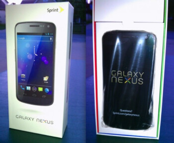 Did your Sprint Samsung GALAXY Nexus arrive on Friday?