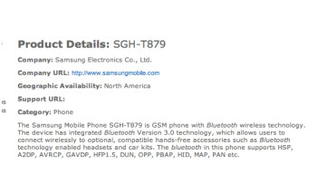 ...and the Wi-Fi Alliance and Bluetooth SIG almost confirm that the Samsung GALAXY Note is coming to T-Mobile