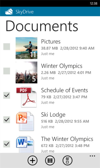 SkyDrive for Windows Phone gets bumped up to version 2.0