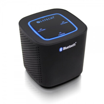Satechi Audio Cube Bluetooth Speaker flaunts a boxy design and adds some oomph to your audio