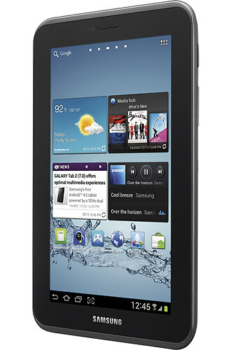 Galaxy Tab 2 7.0 available now - $249.99 at Best Buy
