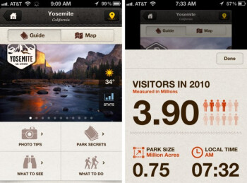 National Geographic launches National Park guide app for iPhone