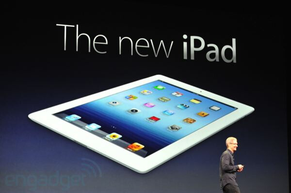 The new iPad has yet to launch in China - Proview owns iPad name in China says Chinese government official