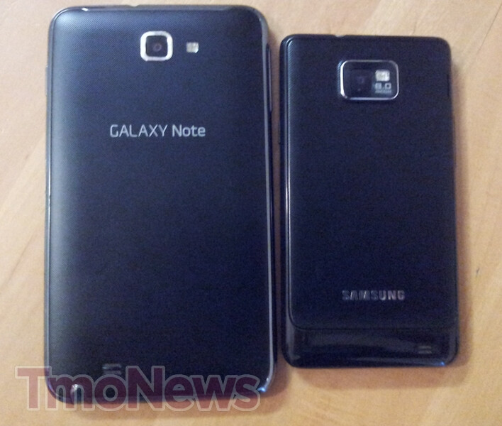 T-Mobile Samsung Galaxy Note leaks out, looks ready for launch