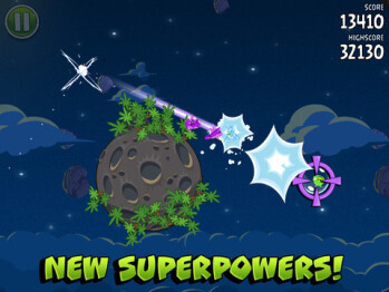 Angry Birds Space updated on iOS and Android � 10 new levels