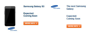 Car Warehouse has changed the name of Samsung's sequel from the Samsung Galaxy S III (L) to the next Samsung Galaxy (R)