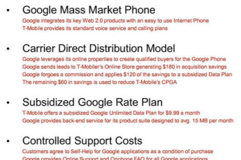 Google envisioned a $10 unlimited plan in early T-Mobile talks