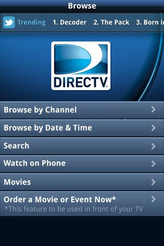 DIRECTV Everywhere hits Android devices – iPhone not so much (yet)