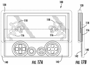 Sony patent suggests dual-keyboard Xperia Play could come in the future