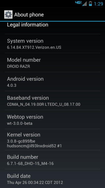 Latest Build 6.14.84