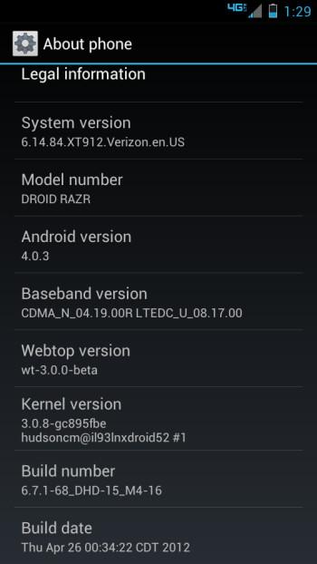 Latest Build 6.14.84