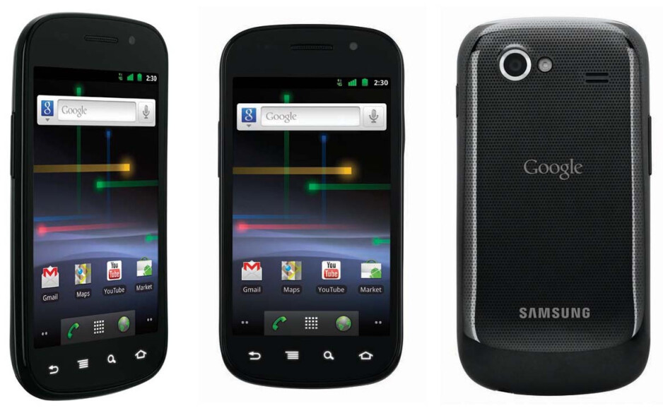 The Google Nexus S became the flagship Android 2.3 model - Original design for Sony Ericsson Xperia PLAY had additional QWERTY slider