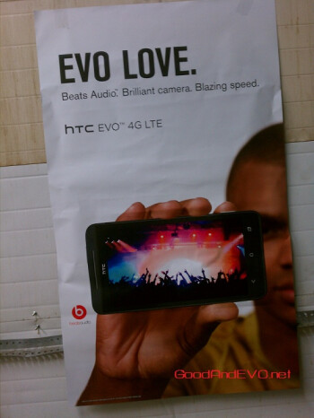This promotional material is allegedly  heading to Sprint locations on May 14th ahead of a possible May 18th  launch of the HTC EVO 4G LTE