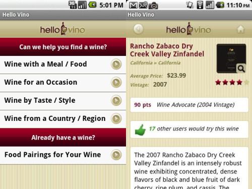 Hello Vino - Wine App