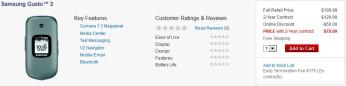 Verizon quietly releases the Samsung Gusto 2