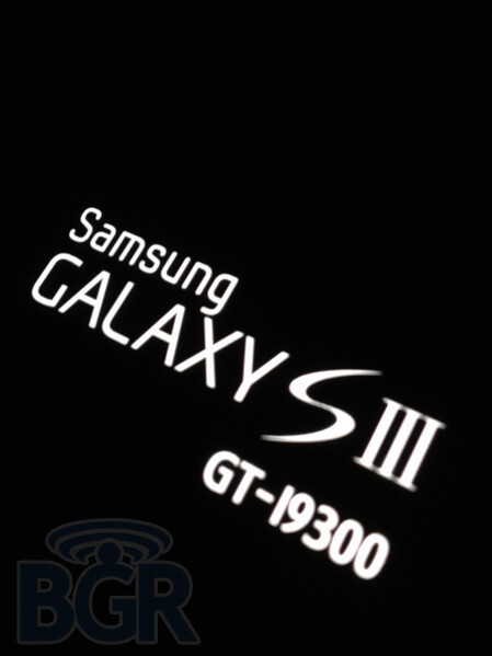 It will officially be branded the Samsung Galaxy S III