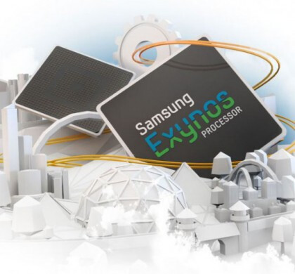 It will ship with Samsung's own quad-core Exynos chip...