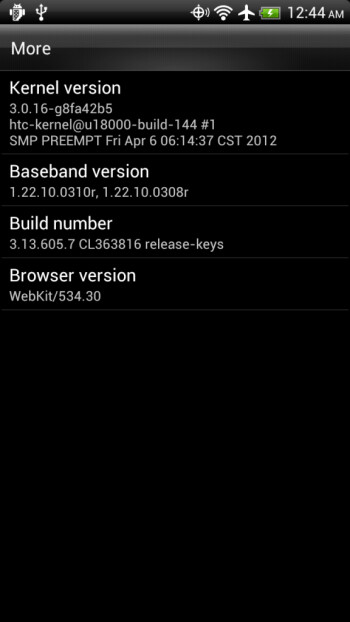 New Ice Cream Sandwich release candidate for the HTC Rezound