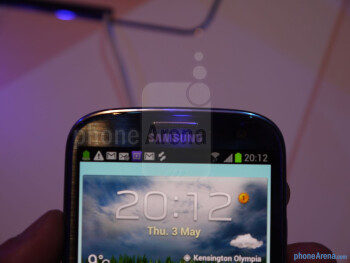 Samsung Galaxy S III Hands-on