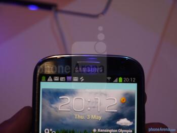Samsung Galaxy S III Hands-on