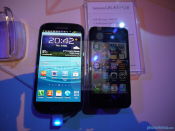 Galaxy S III vs iPhone 4S/4
