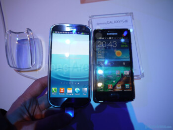 Galaxy S III vs Galaxy S II
