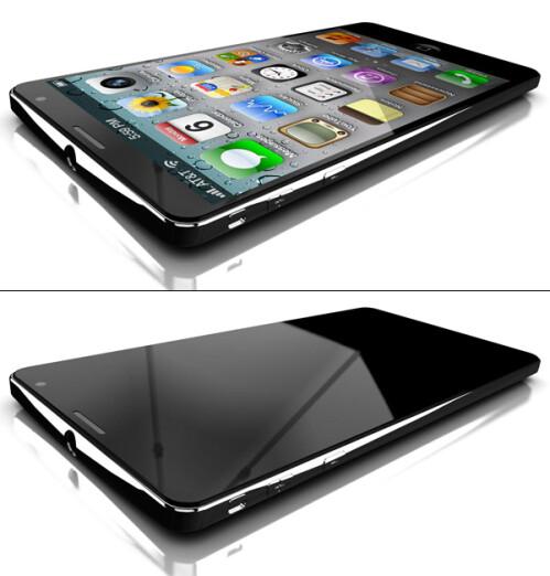 LiquidMetal iPhone 5 mockup
