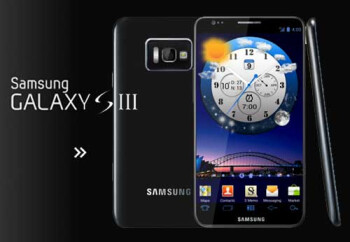 An early unofficial concept design for the Samsung Galaxy S III
