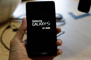 An allegedly older prototype design for the Samsung Galaxy S III