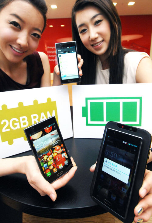 LG Optimus LTE2 press photos