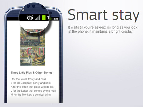 Natural interaction with Smart Stay, Direct Call